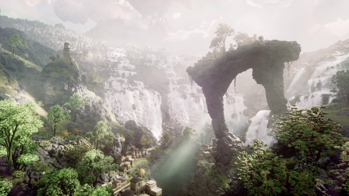 This may seem like a spectacular new game, but it is actually a creation in Dreams for PS5.