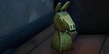 Where to find the golden artifacts near the Spire in Fortnite season 6 - week 1 locations