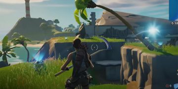 Where to investigate an anomaly detected on Shark Island in Fortnite season 6 - location