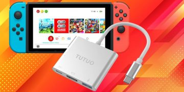 With this HDMI adapter you can play Nintendo Switch on any TV without the need for a dock and it costs less than 20 euros