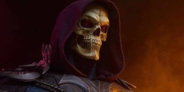 You can now buy a BRUTAL life-size bust of Skeletor ... if you have 1000 dollars loose