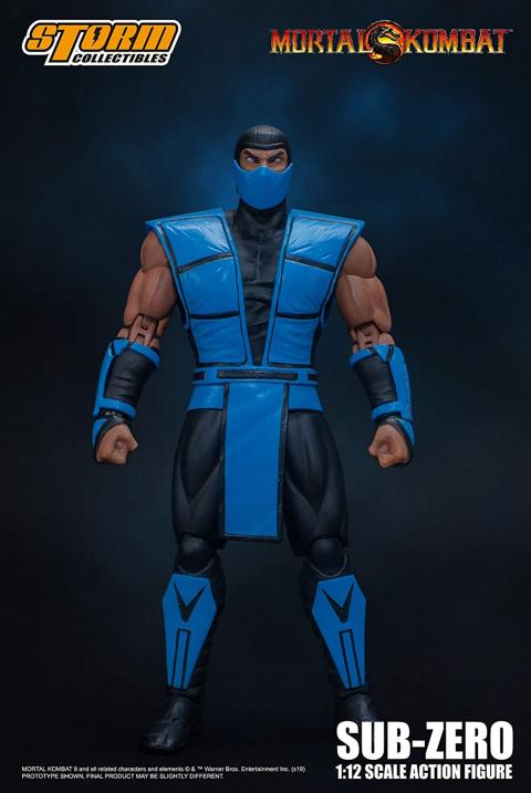 Mortal Kombat articulated figures