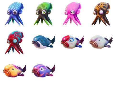 Fortnite fish and octopus season 6
