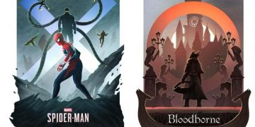 A PlayStation fan creates spectacular posters of the great PS4 games