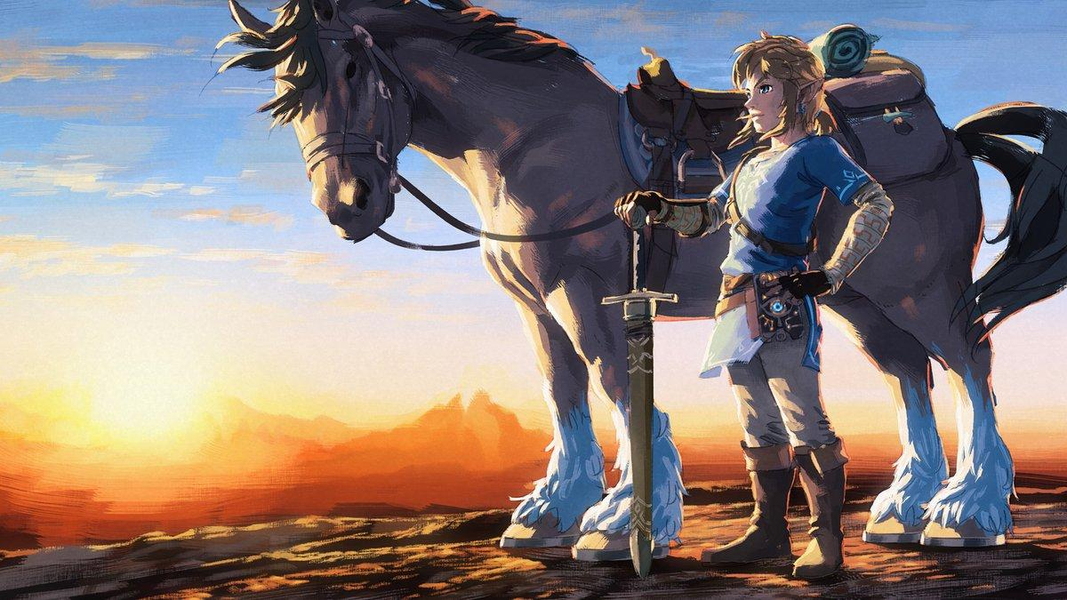 A fan creates a demake of Zelda Breath of the Wild as if it were a Game Boy Color game