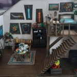 A fan recreates Link's house in Zelda Breath of the Wild with beautiful miniatures
