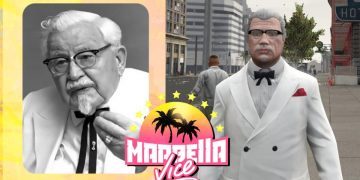 A very popular character from the networks joins Marbella Vice: Colonel Sanders