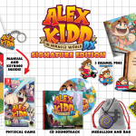 Alex Kidd in Miracle World DX physical editions revealed