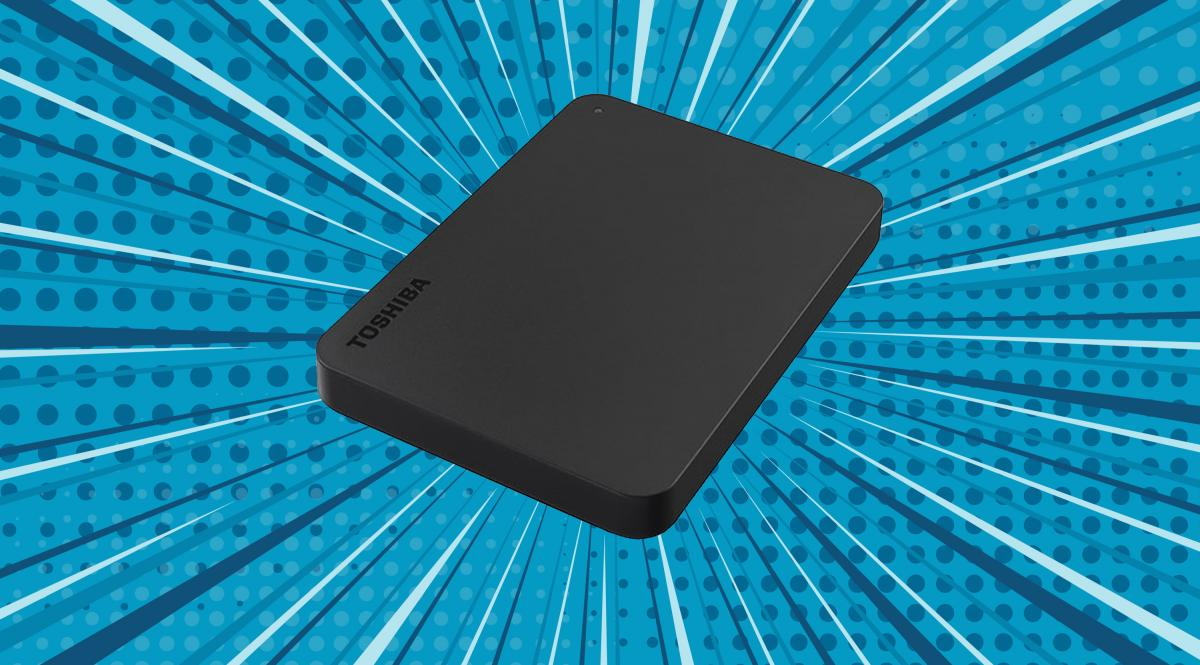 Amazon's best-selling hard drive is on sale: Toshiba brand, 1TB of capacity and an all-time low price of 42 euros