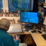 An 88-year-old man manages to find help in his neighborhood to resume his passion for video games