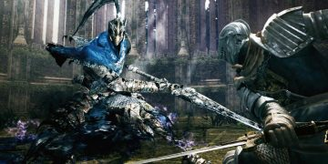 Artorias, boss of Dark Souls, is defeated by a streamer blindly, playing with piano and without receiving blows