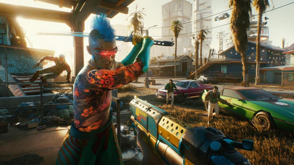 CD Projekt Red will not market their games until the launch is ready.