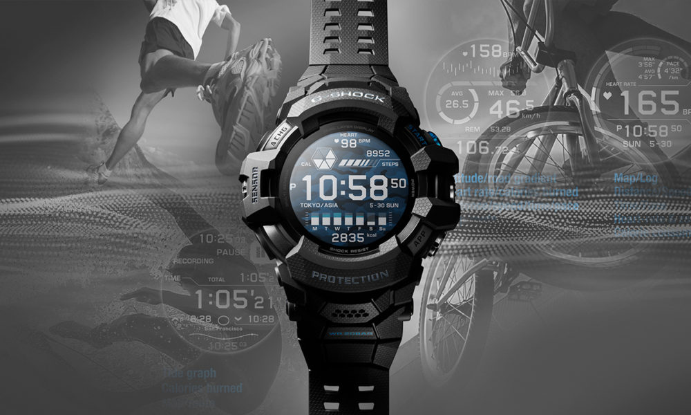 GSW-H1000 Casio G-SHOCK smartwatch Wear OS