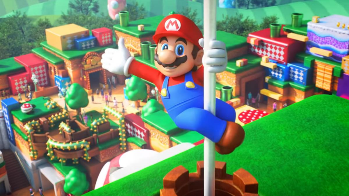 Construction of the Super Nintendo World Park in Los Angeles is proceeding apace.  There are pictures!