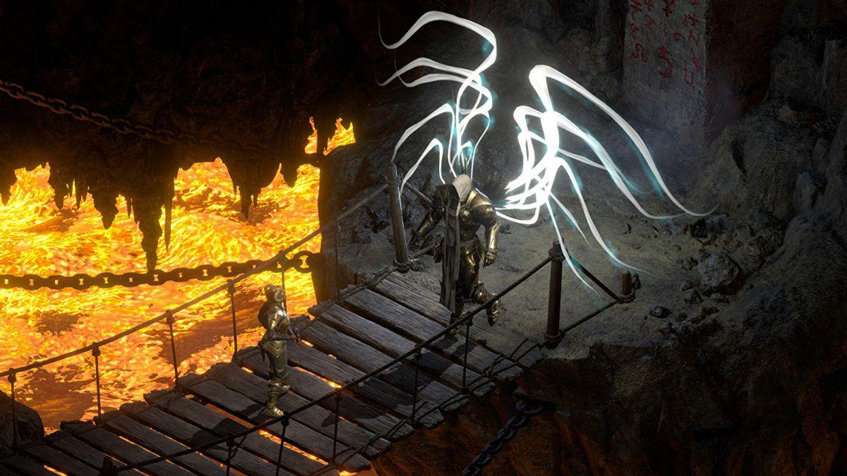 Detailed graphics options and requirements for Diablo II Resurrected during its closed alpha