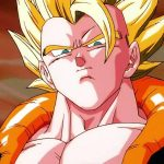 Dragon Ball - Naohiro Shintani honors the 90s art of the movie Fusion with a beastly Gogeta