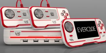 Evercade VS announced, new retro console with interchangeable cartridges and four controller ports