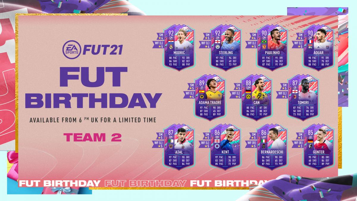FIFA 21 FUT Birthday team 2: all players, objectives, SBC, rewards and everything you need to know