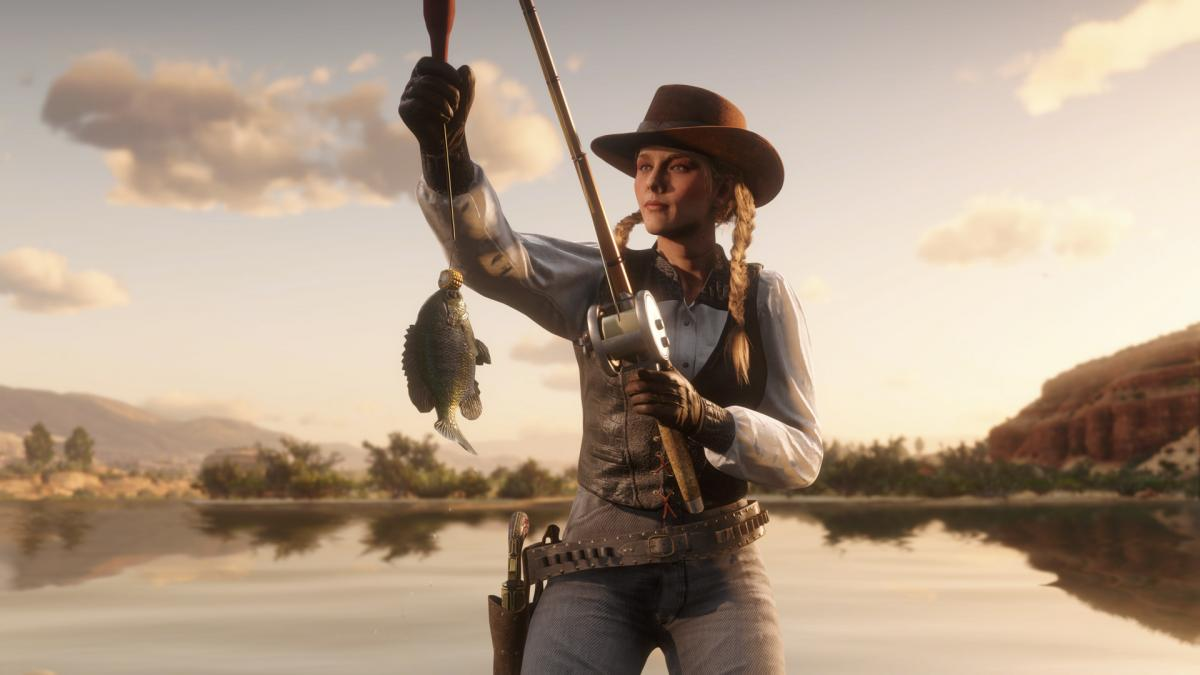Gifts and rewards for naturalists and fishermen await you this week in Red Dead Online