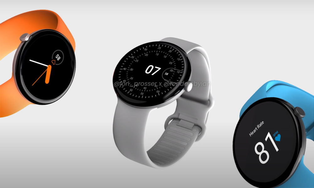 Google Pixel Watch sees its design and release date leaked