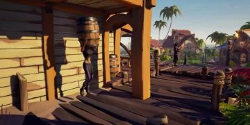 How to dress up on a barrel in Sea of Thieves