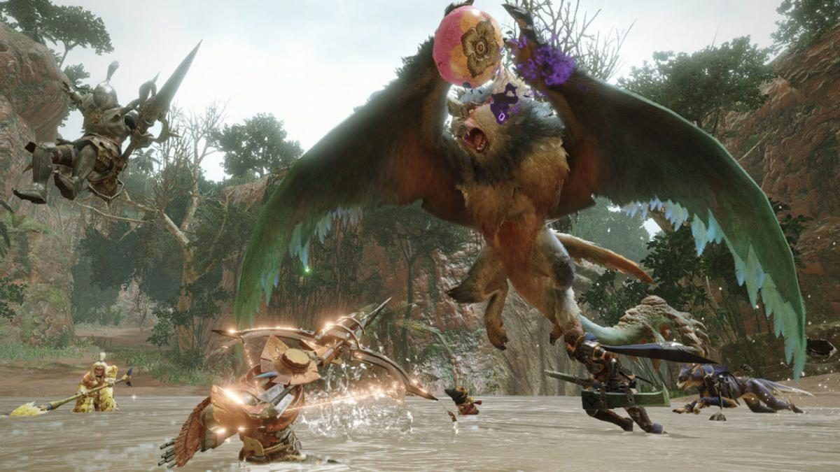 How to hunt Bishaten, one of the new monsters in Monster Hunter Rise
