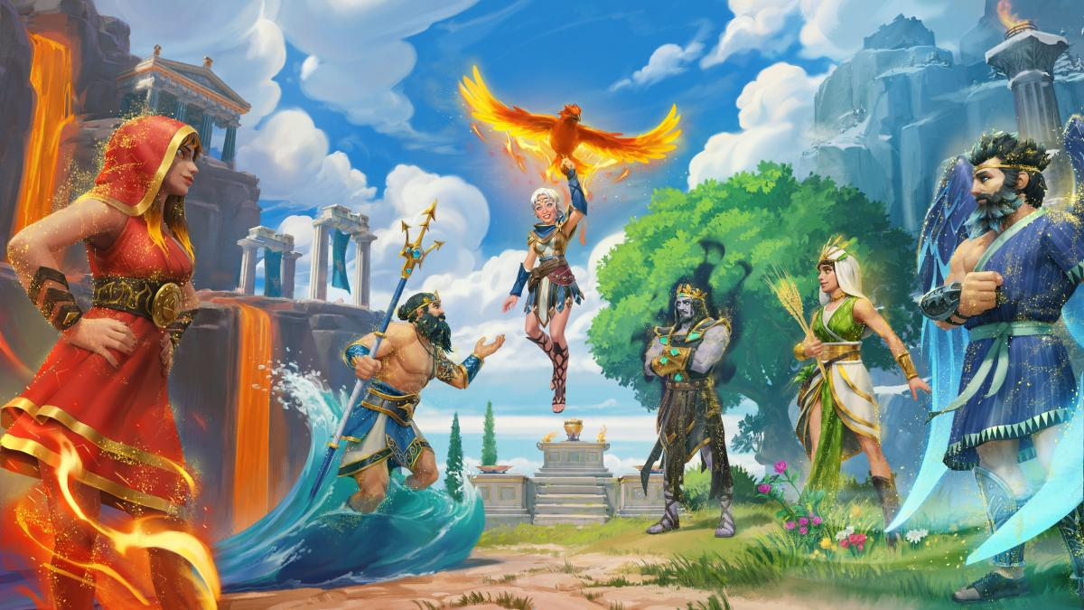 Immortals Fenyx Rising: Lost Gods, Ubisoft's Third Game DLC, Coming Next Week