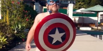 Jack Black is back to his old ways ... this time as Captain America