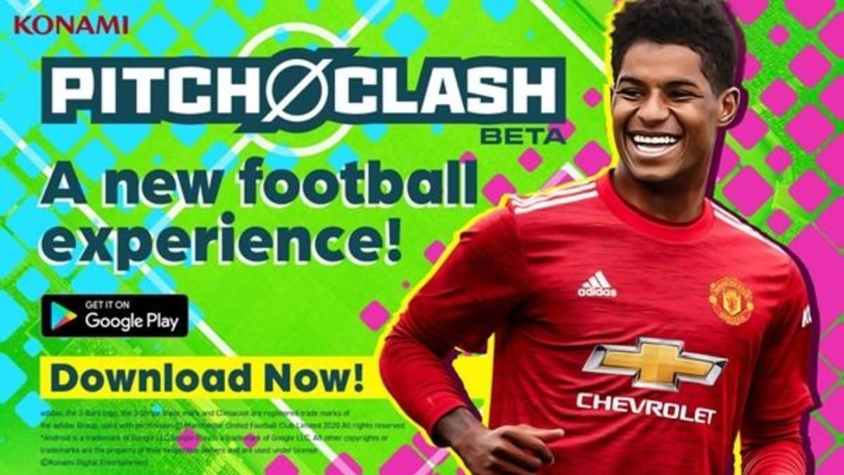 Konami presents Pitch Clash, its new soccer game for Android devices