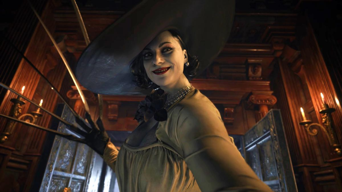 """Lady Dimitrescu """"is the opposite of Dracula,"""" according to Resident Evil Village art director."""