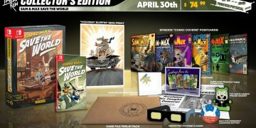 Limited Run Announces Physical Editions of Sam & Max Save the World for Switch and PC