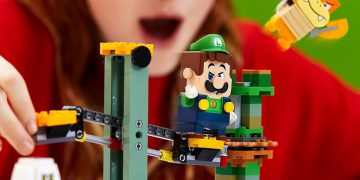 Luigi's LEGO Mario set is leaked by a Chinese store ahead of time