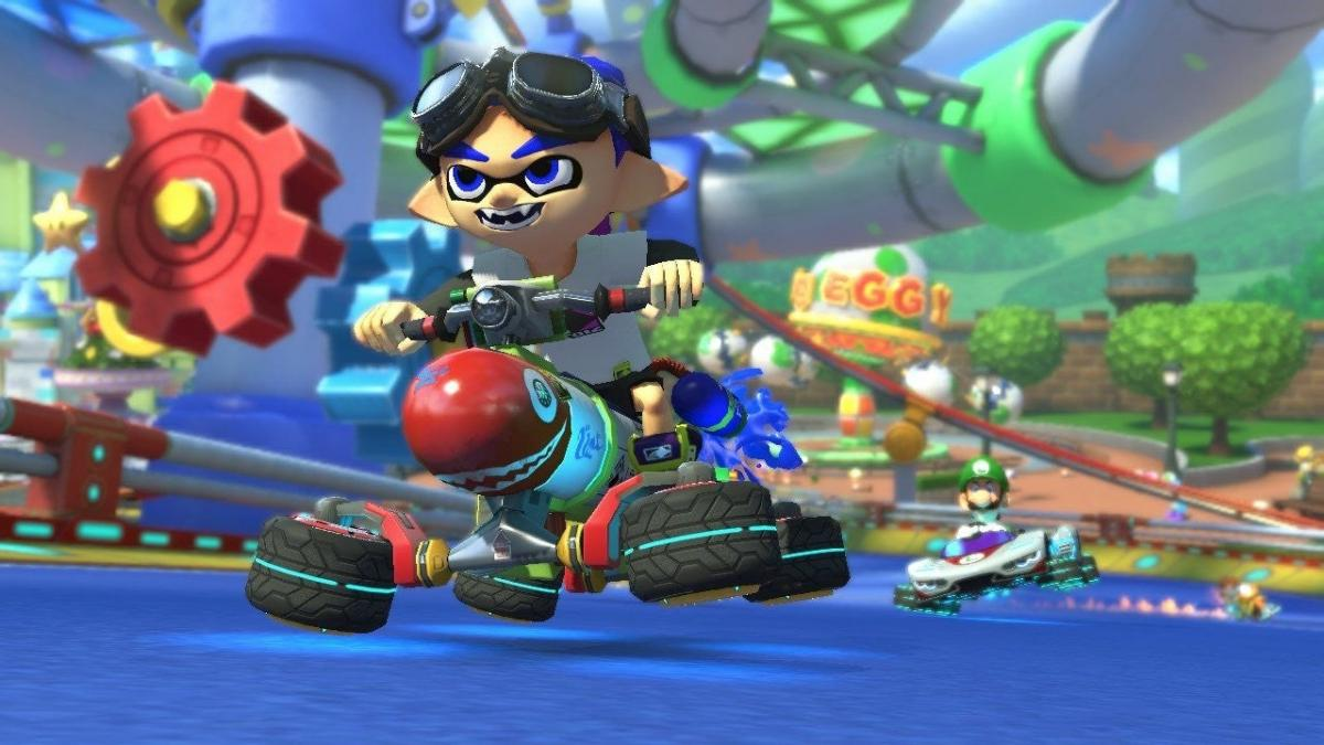 Mario Kart 8 is the best-selling racing game in the history of the United States