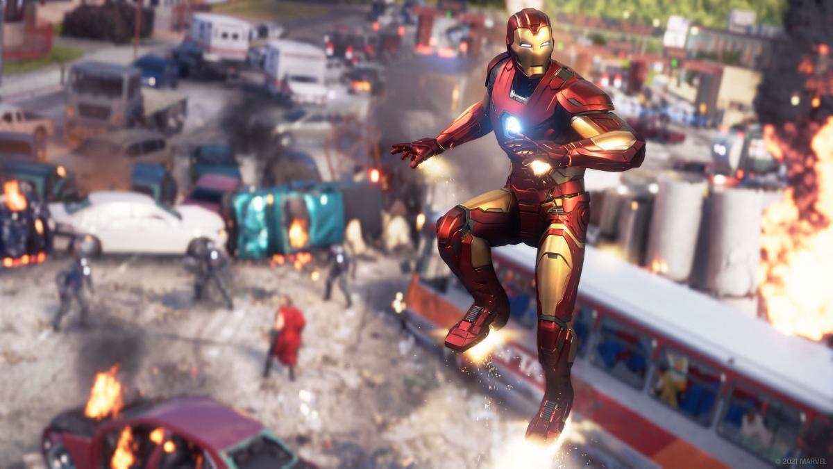 Marvel's Avengers updates to correct crashes on PS4