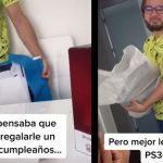Maximum cruelty: it makes her boyfriend believe that his gift was a PS5 but ...