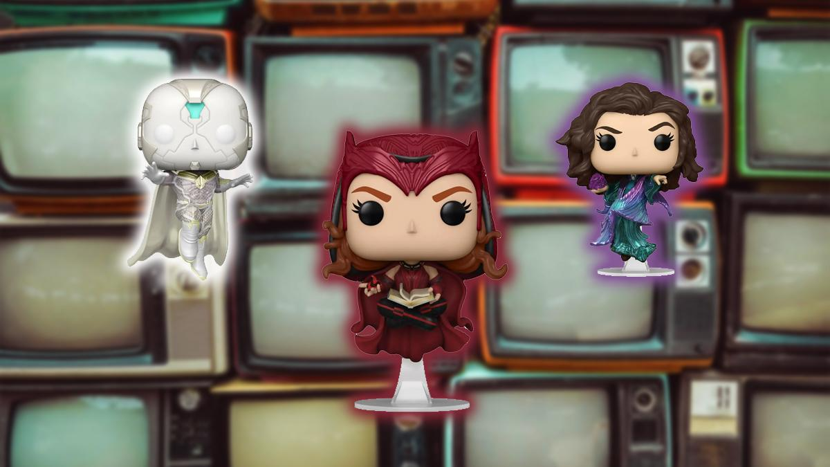 New Funko Pop!  from Wandavision: three new items for € 34.99