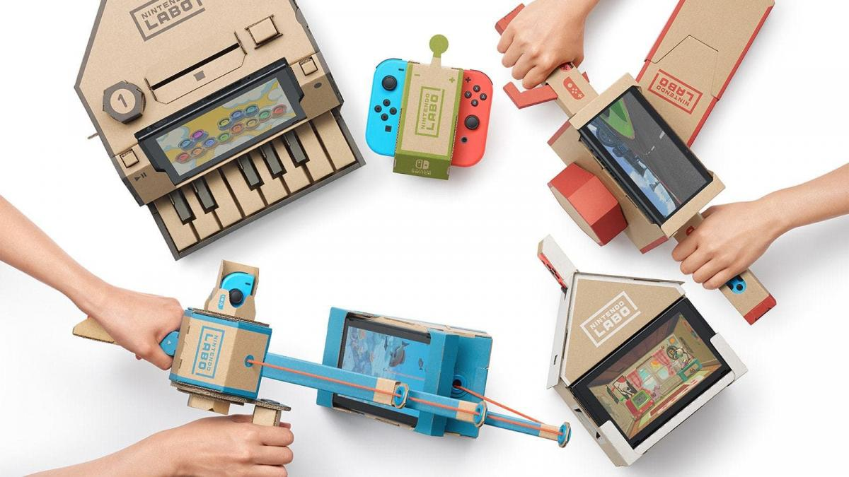 """Nintendo would be preparing a """"small announcement of Labo"""" before closing it"""