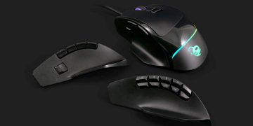 Play to another level with this modular mouse with interchangeable panels and adjustable weight for only 24.49 euros
