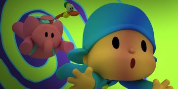 Pocoyo Party, developed by a Spanish studio, is now available for PS4 and Nintendo Switch