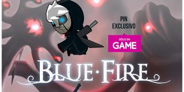 Pre-order Blue Fire at GAME stores and get an exclusive gift set pin
