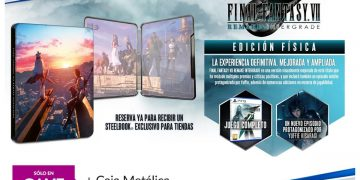 Pre-order Final Fantasy VII Remake Intergrade for PS5 in GAME stores and get a metal box as a gift