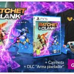 Pre-order Ratchet & Clank: A Dimension Apart for PS5 at GAME and get a free T-shirt and DLC