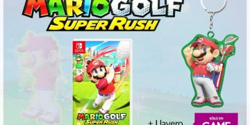 Reserve Mario Golf Super Rush at GAME stores to get an exclusive keychain as a gift