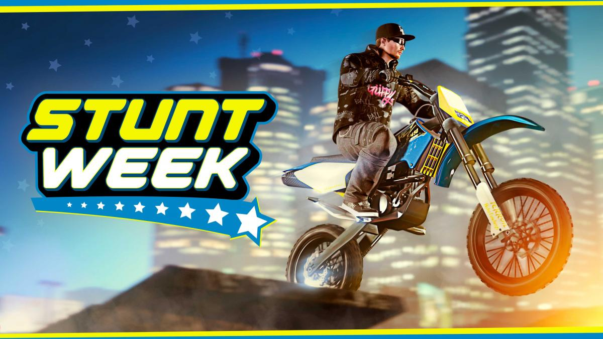 Stunt Week in GTA Online - Perform 5 Jumps and Earn GTA $ 500,000