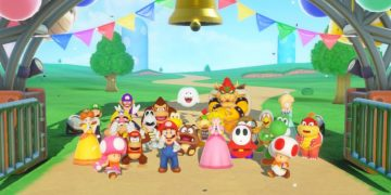 Super Mario Party is updated with online support for main mode, 70 minigames and 2v2 mode