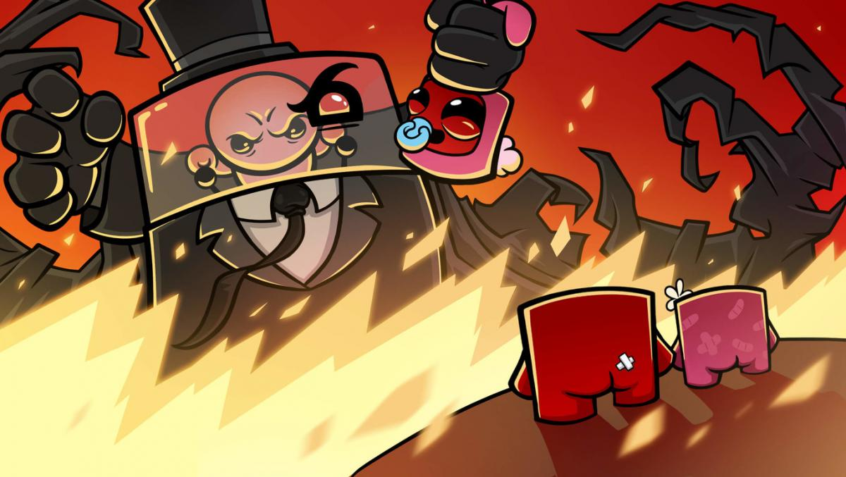 Super Meat Boy Forever is coming to PS4 and Xbox One this month