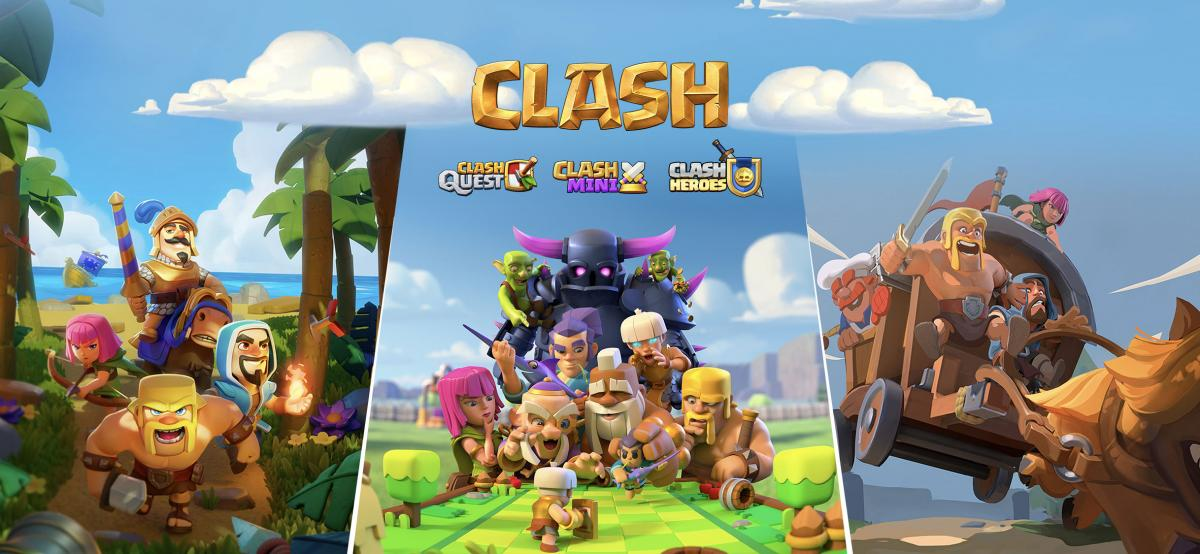 Supercell Expands Clash of Clans Universe With Three New Mobile Games Announced