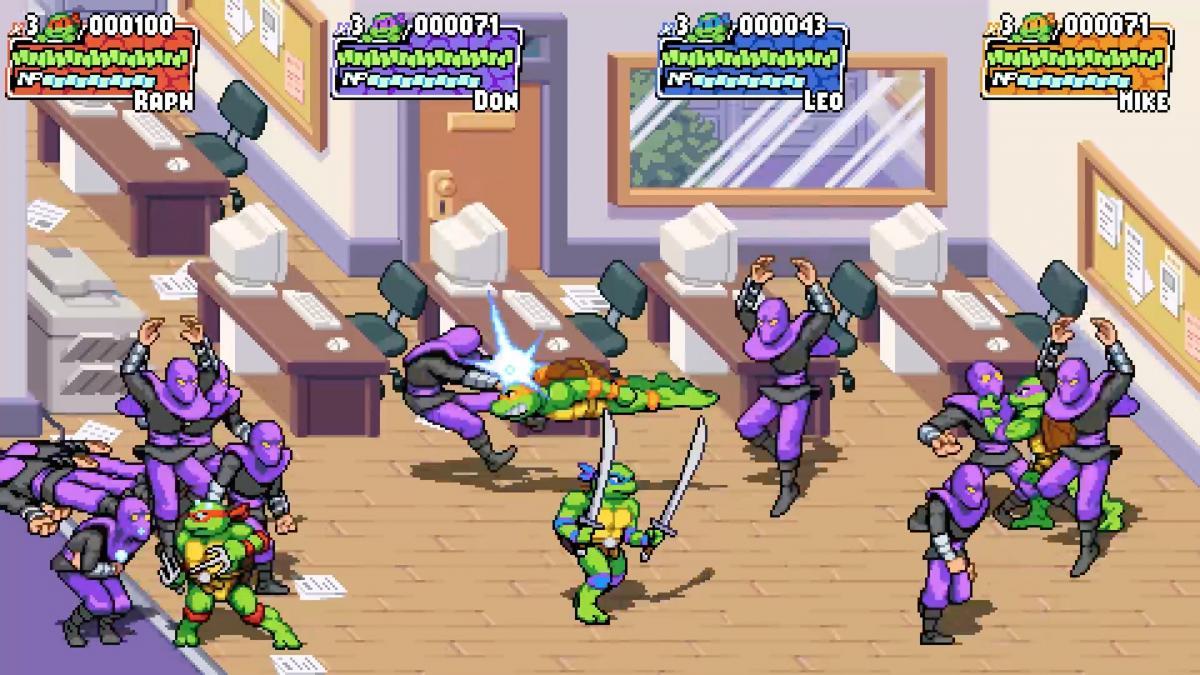 Teenage Mutant Ninja Turtles: Shredder's Revenge shows off nostalgia in new trailer