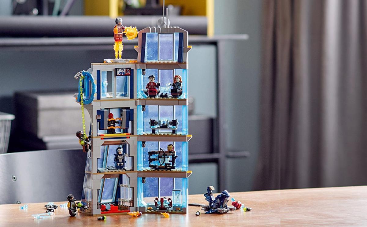 The LEGO Tower of The Avengers reaches the all-time low: it costs you 63 euros at Amazon