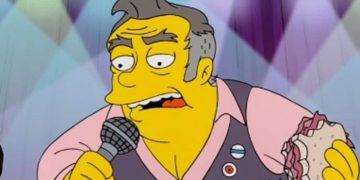 The Smiths singer Morrissey is parodied on The Simpsons, gets angry ... and his fans make fun of him